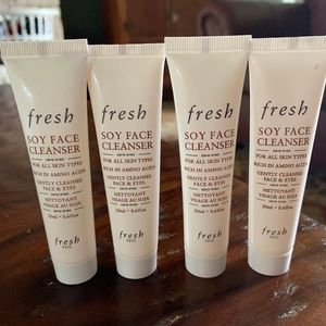 NEW fresh Soy Face Cleanser for all skin types!!